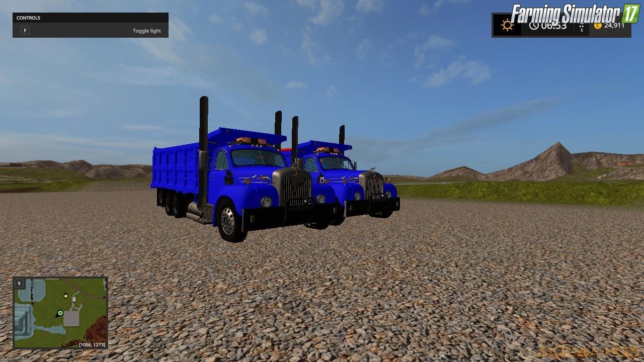 Mack B61 Dump Truck v1.0 for FS17