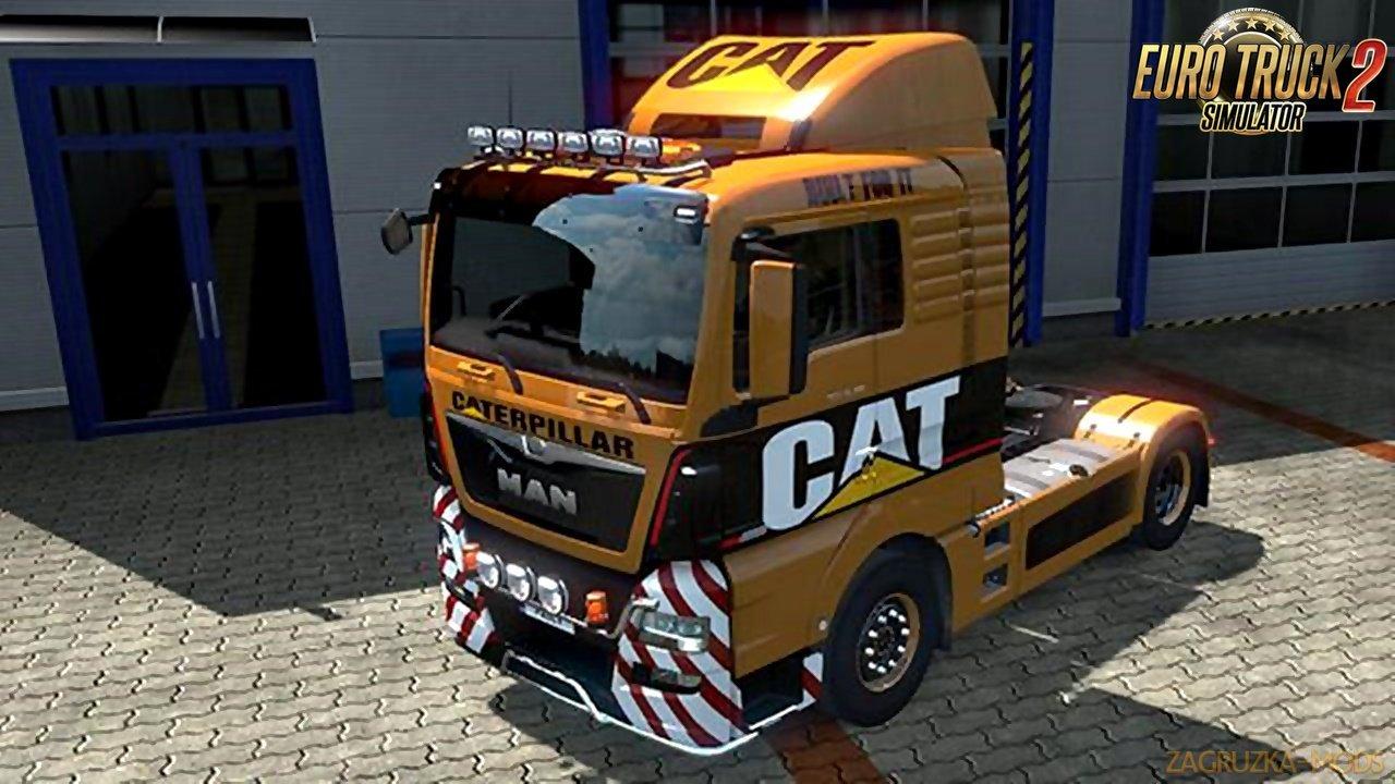 CAT Skin for MAN Euro 6