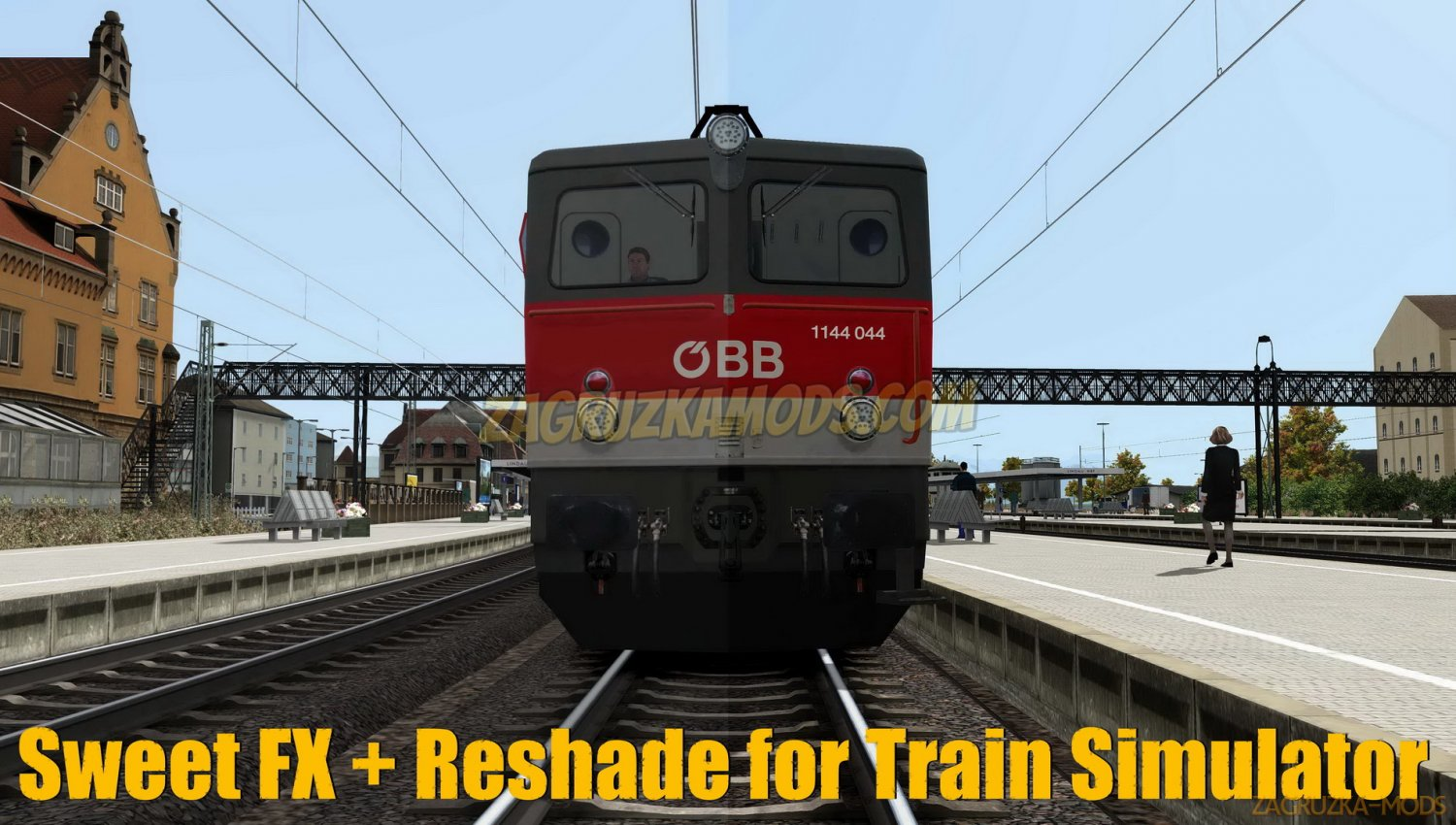 Sweet FX + Reshade Graphics mod v1.0 for TS 2019