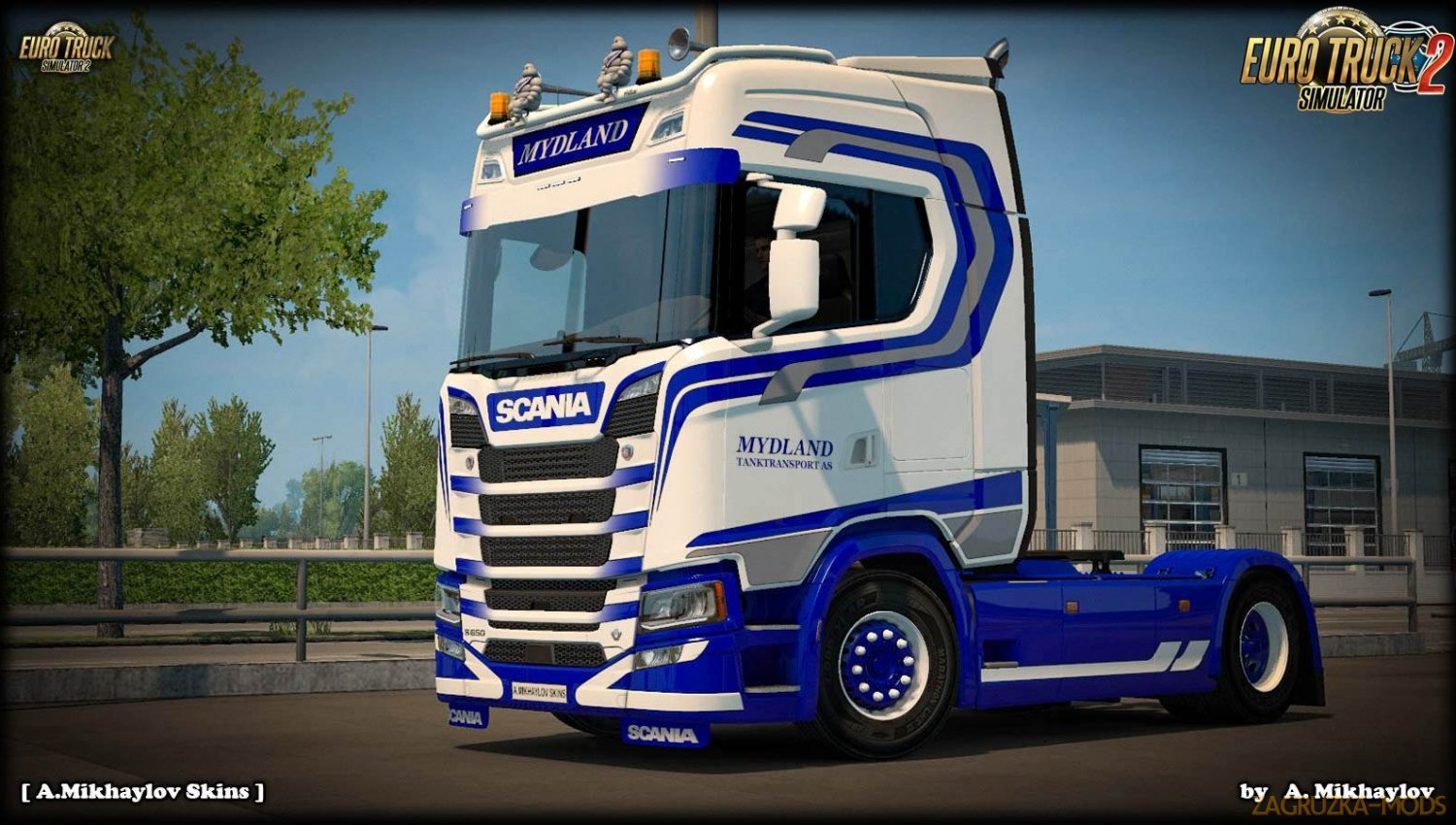 Mydland Skin for SCANIA S Highline by SCS