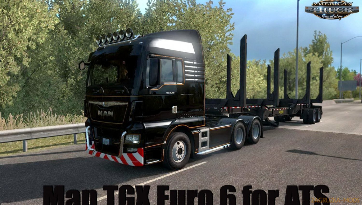 Man TGX Euro 6 + Interior v1.2 (1.37.x) for ATS