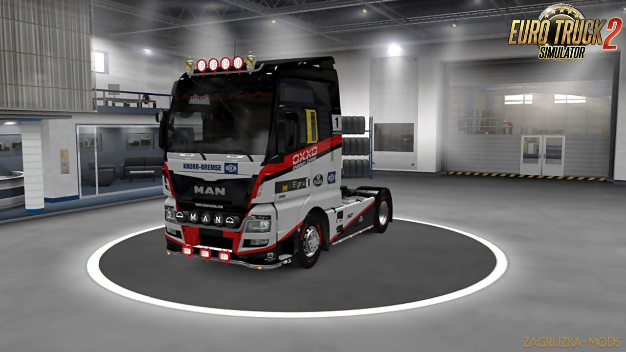 SPORT Skins for MAN TGX Euro6 by vlad1590