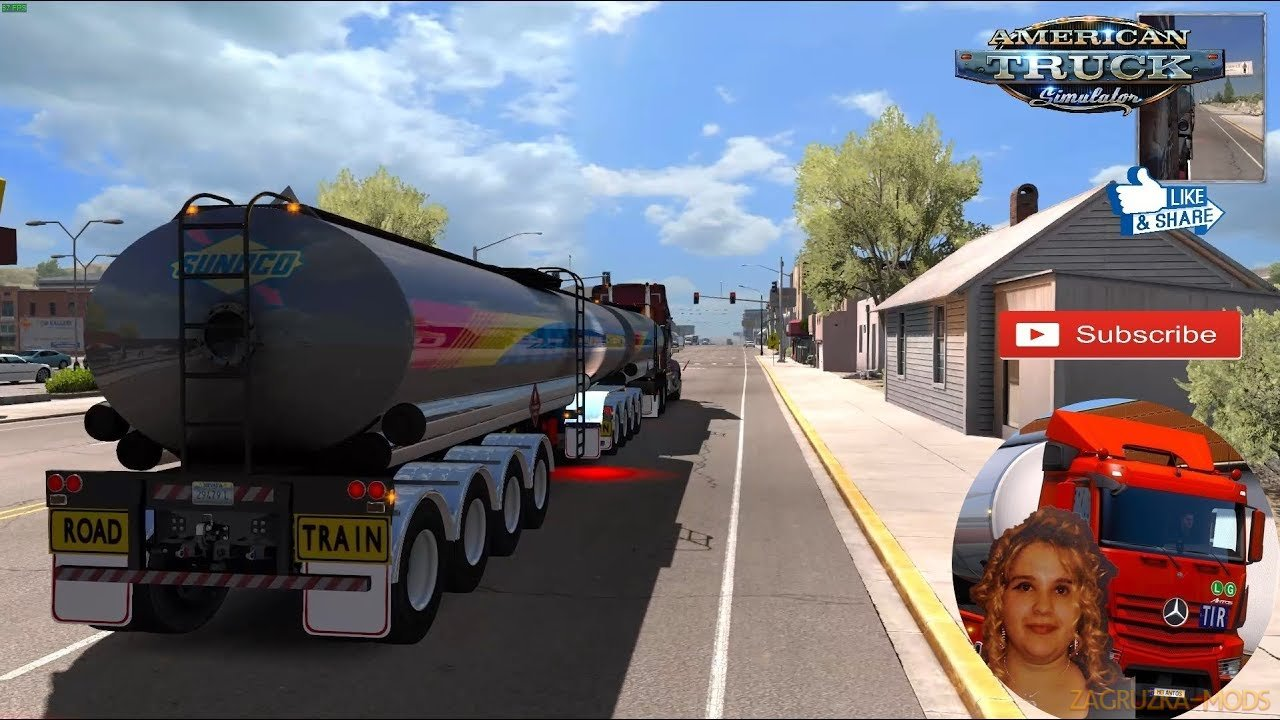 Trailer Tanker Aussie v1.0 (1.34.x) for ATS
