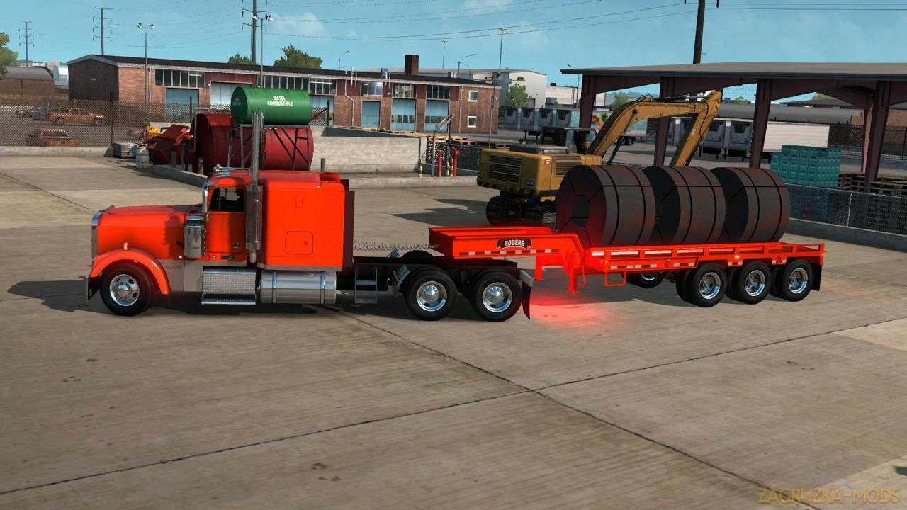 Rogers FG65L Coil Trailer Ownable v1.0 (1.34.x) for ATS