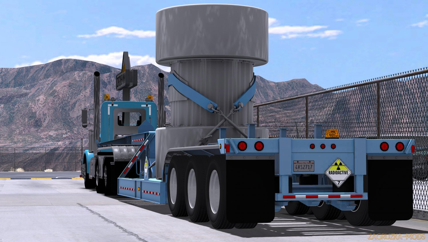 BWS Nuclear Waste Special Transport v1.0 (1.34.x) for ATS