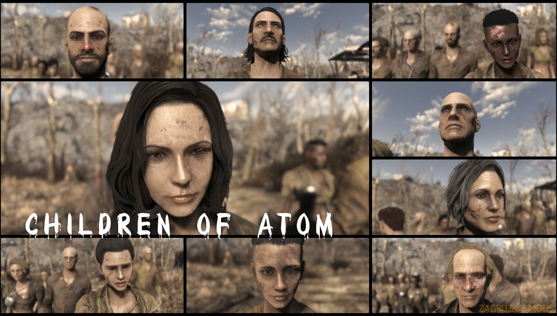 Facials for Everyone - All DLC v1.4 for Fallout 4