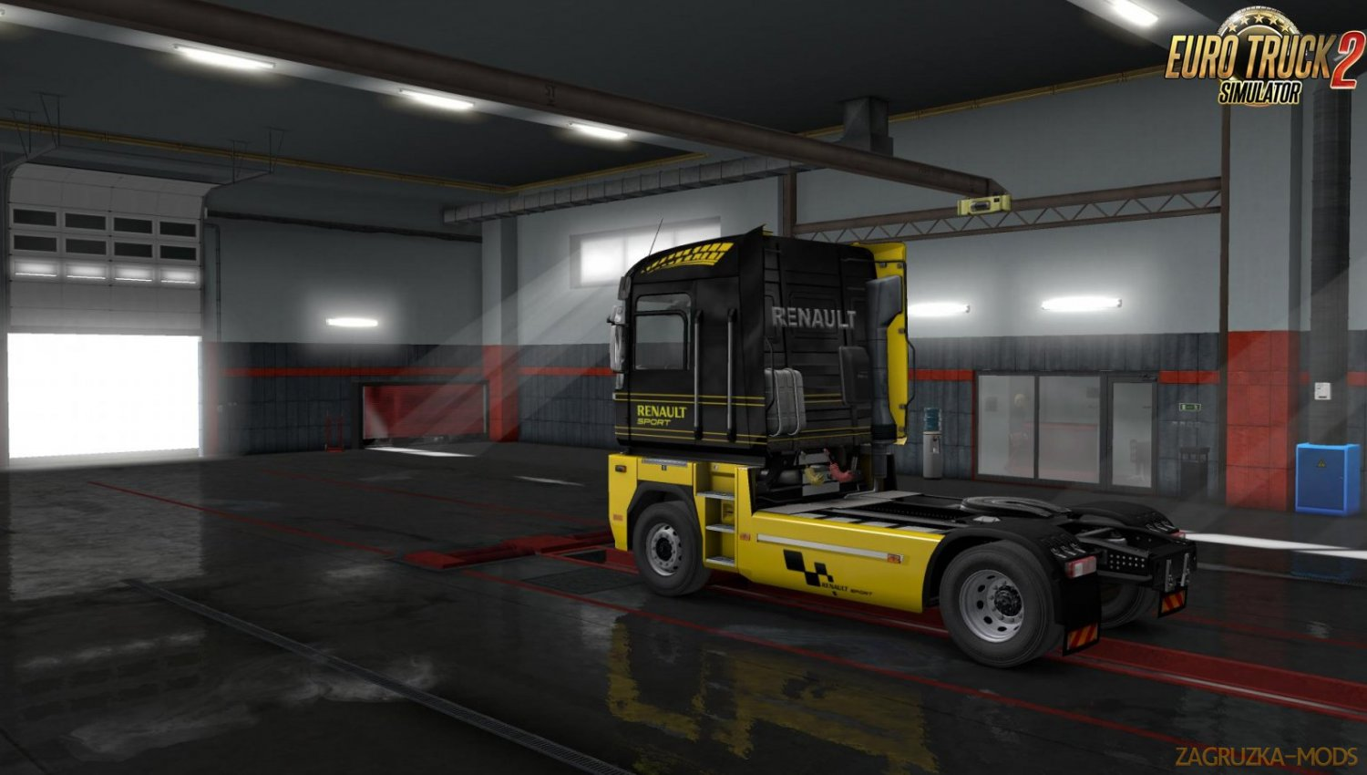 Renault Magnum RS Skin and Interior v1.34