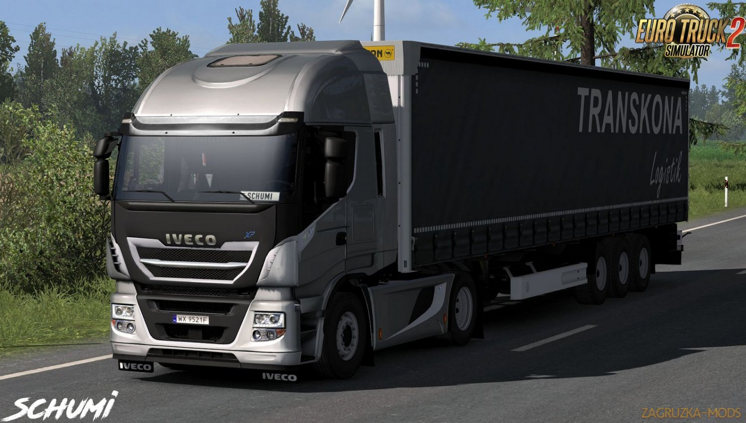 Iveco Hi-Way Reworked v2.5 by Schumi (1.35.x)