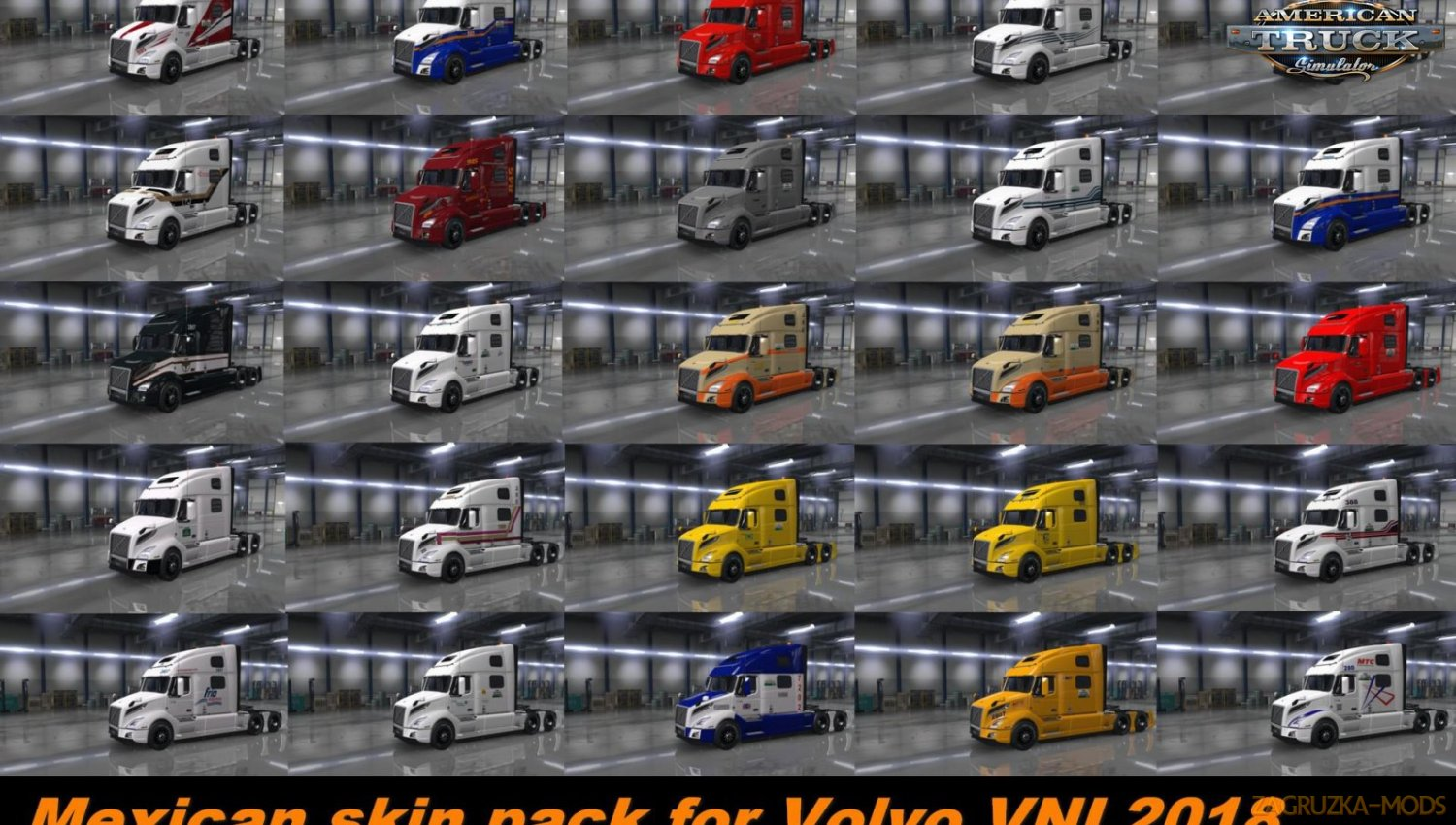 Mexican Skin Pack for Volvo VNL v1.0 (1.34.x) for ATS