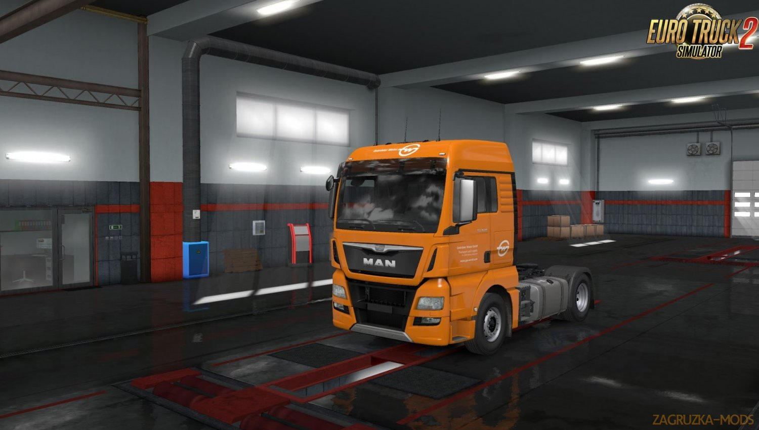 European Logistics Companies Paint Jobs Pack v1.1 for Ets2