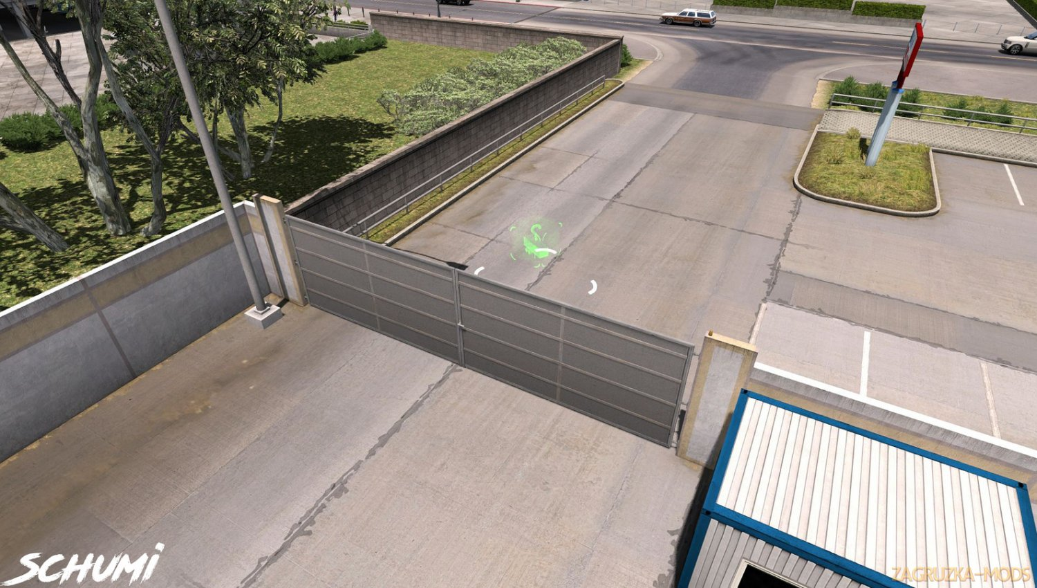 Animated Gates in Companies v1.0 by Schumi (1.34.x) for ATS