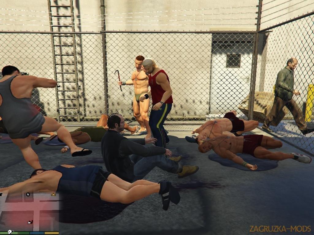 Fight Championship Mod v0.3 for GTA 5