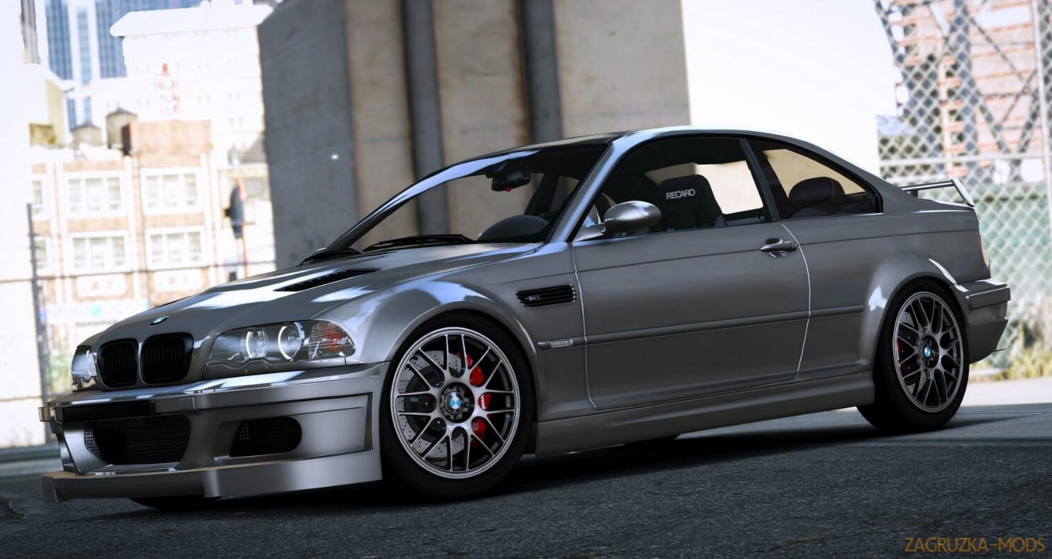 BMW M3 E46 2005 v1.0 for GTA 5