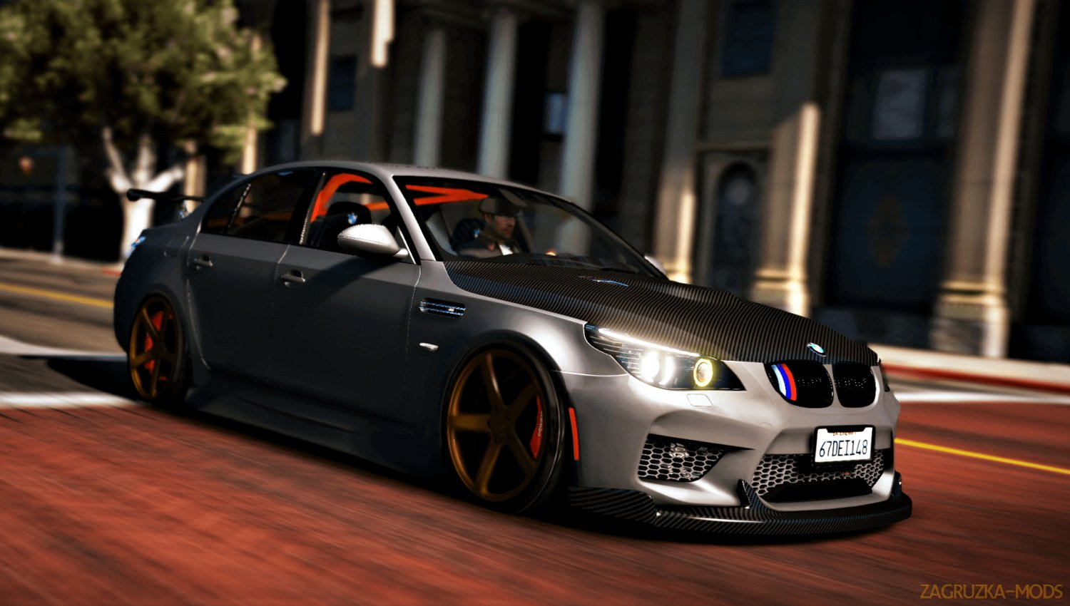 BMW M5 E60 Tuning Exterior v1.1 for GTA 5