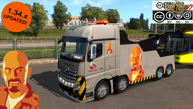 Custom Skin for Mercedes Benz MP IV Crane Truck