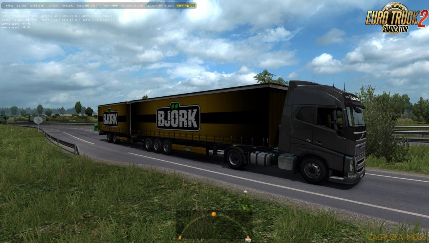 Double Trailers in Traffic [1.34.x]