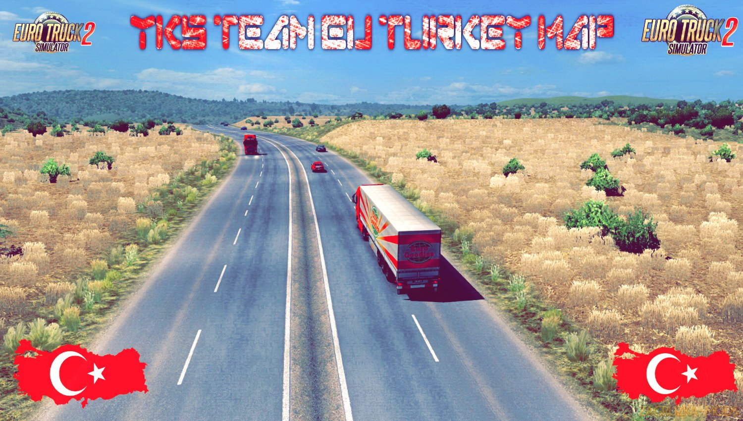 YKS Team Eu Turkey Map v1.0 (1.35.x) for ETS2