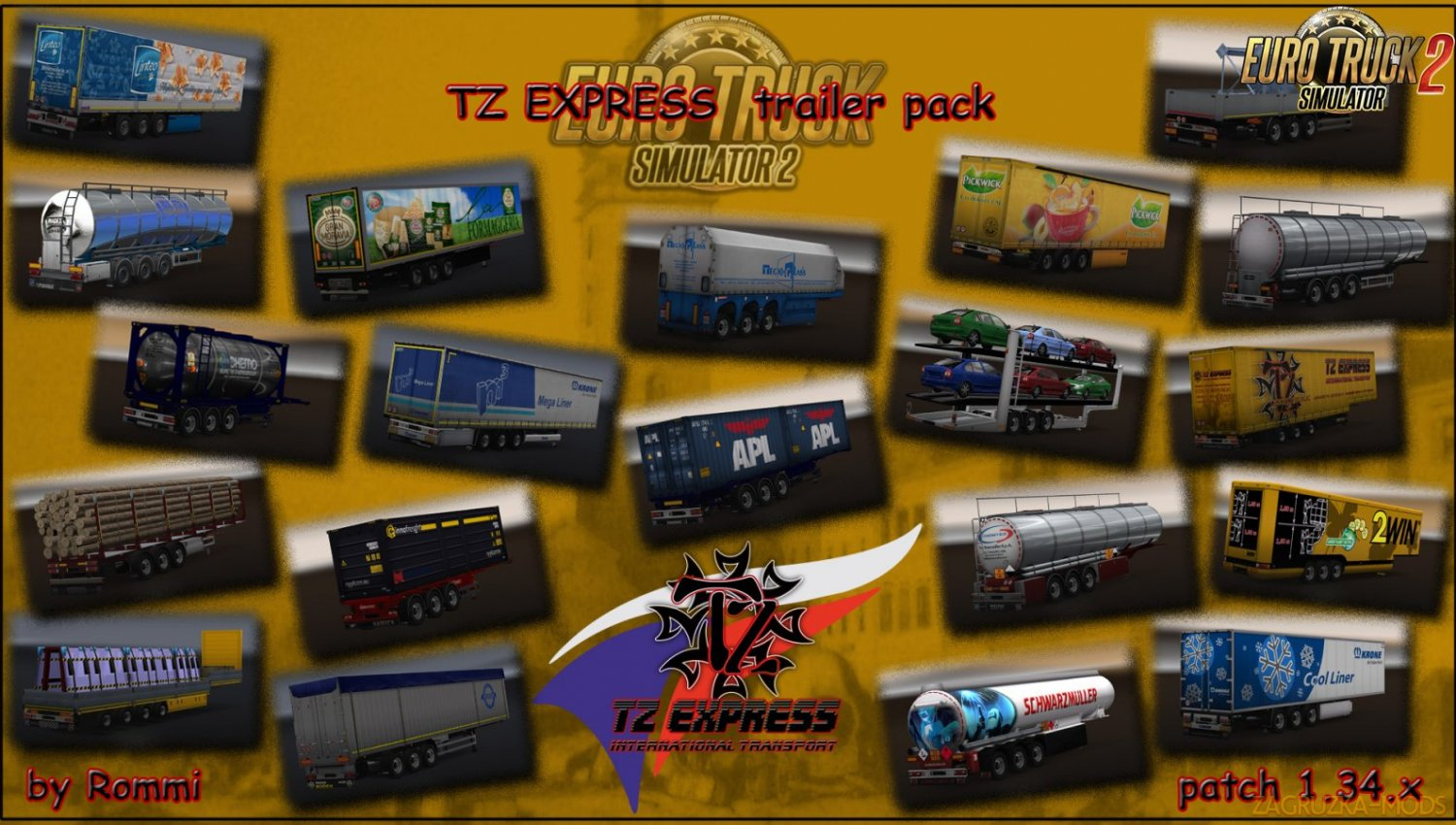 TZ Trailers pack with owned [1.34.х]