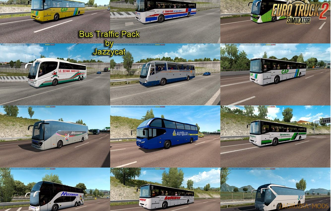 Bus Traffic Pack v6.4 by Jazzycat
