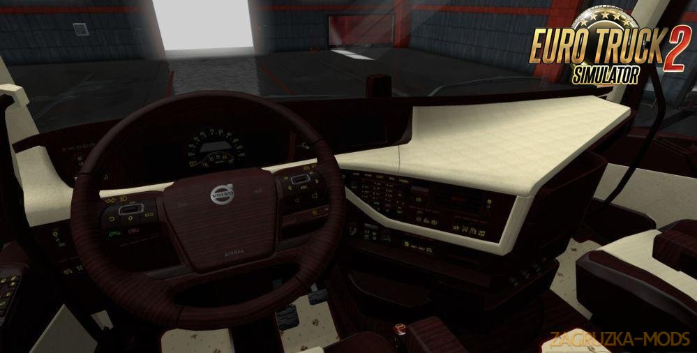 Volvo FH 2012 Bordo Beige Lux Interior by Miki