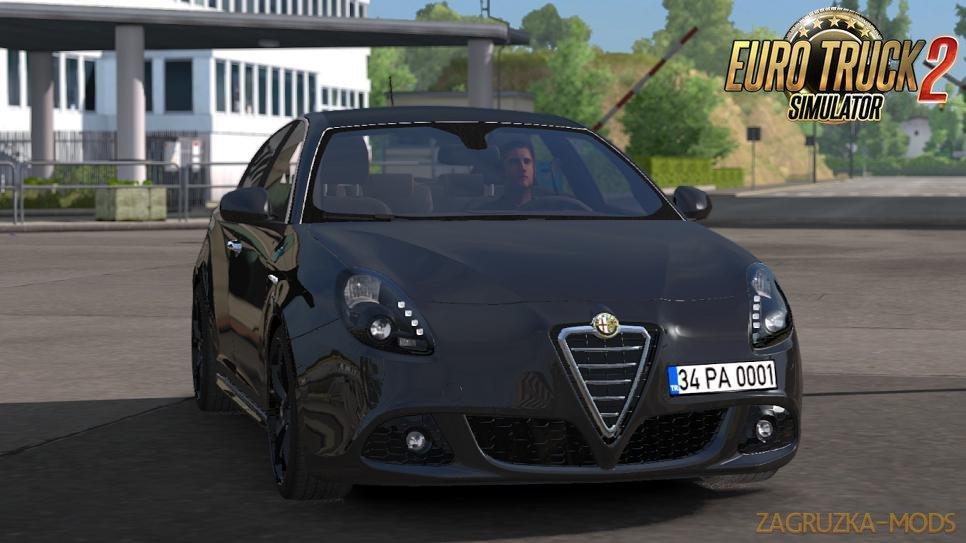 Alfa Romeo Giulietta V1R2 for Ets2 (1.34.x)