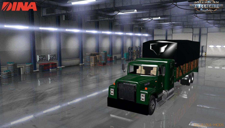 Dina 861 Truck + Interior v1.0 (1.34.x) for ATS
