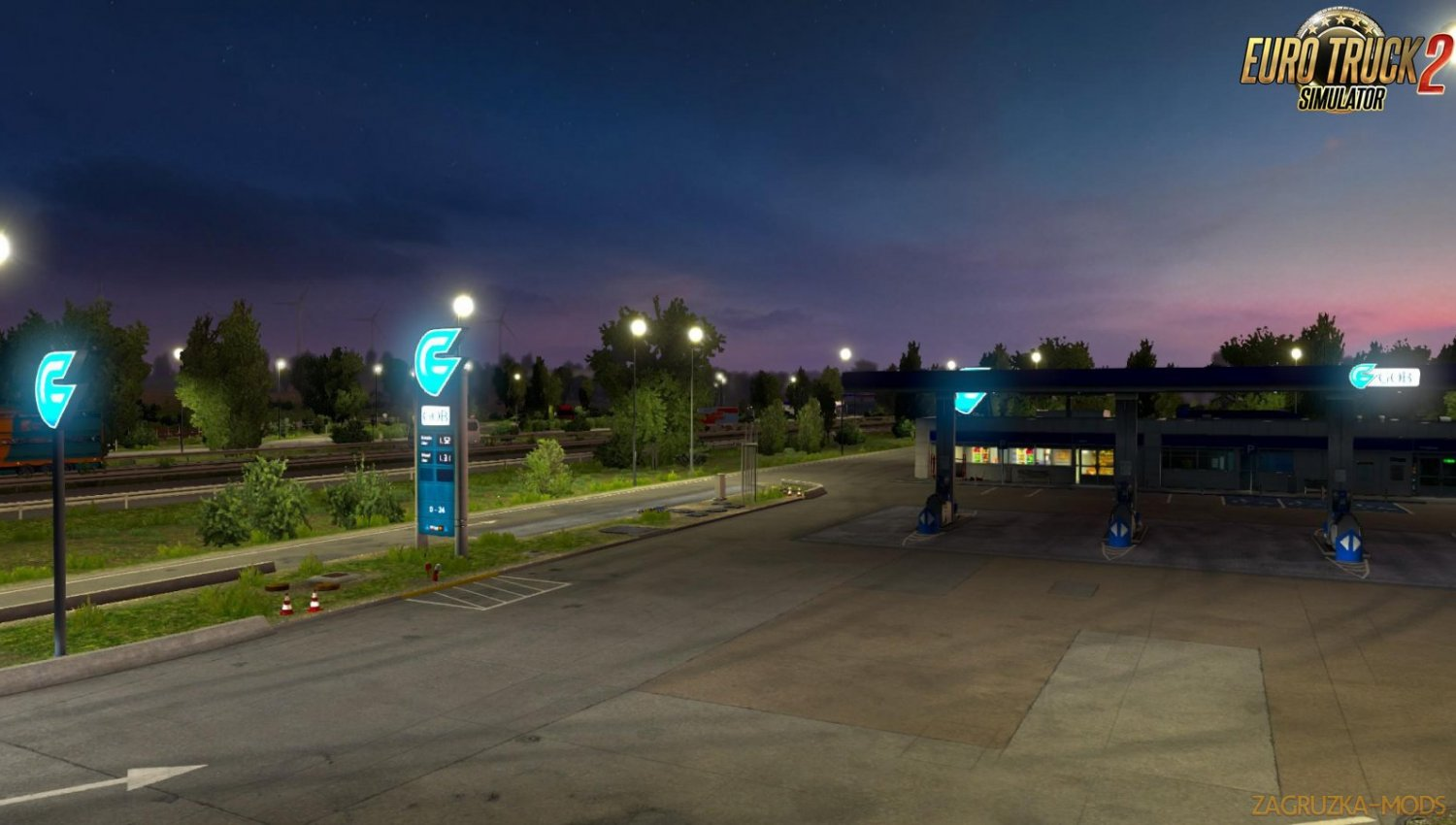 Realistic Fuel Stations for Ets2 [1.34.x]
