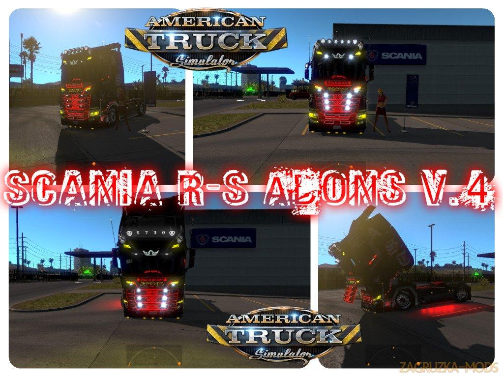 Scania R-S Adons v4.0 for ATS