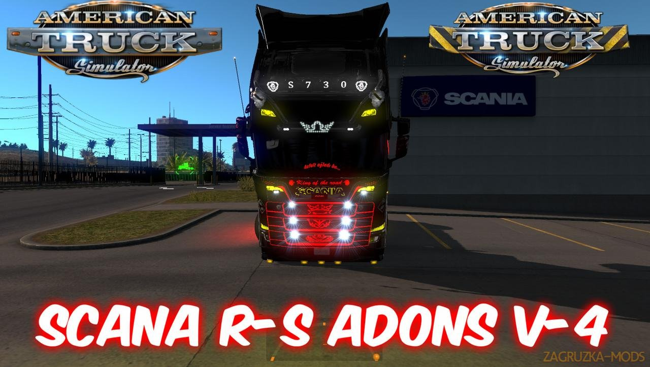 Scania R-S Adons v4.0 for ATS