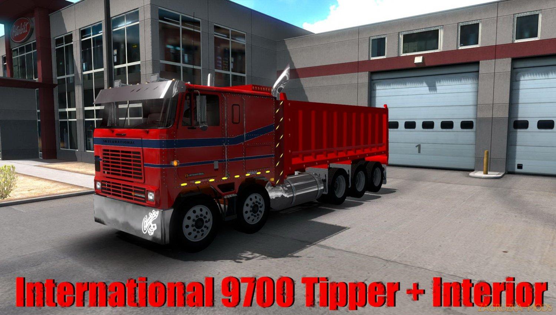 International 9700 Tipper + Interior v2.5 (1.34.x) for ATS