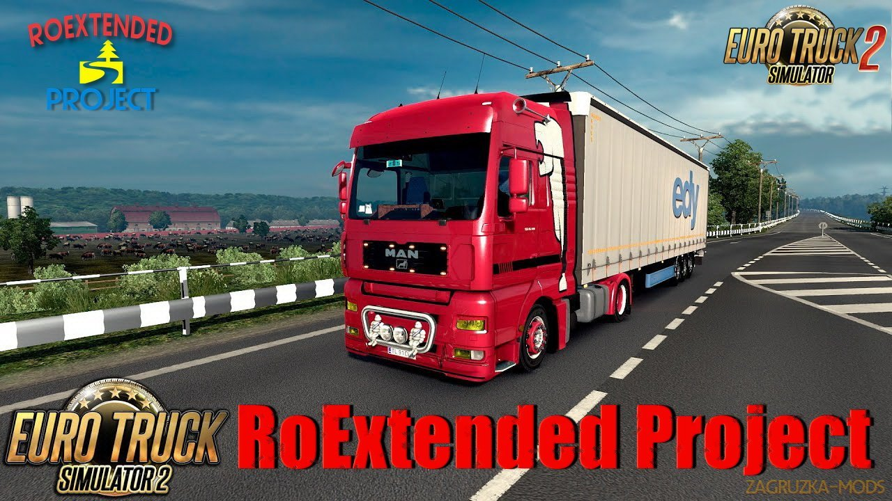 RoExtended Project v2.3 by Arayas (1.37.x) for ETS2