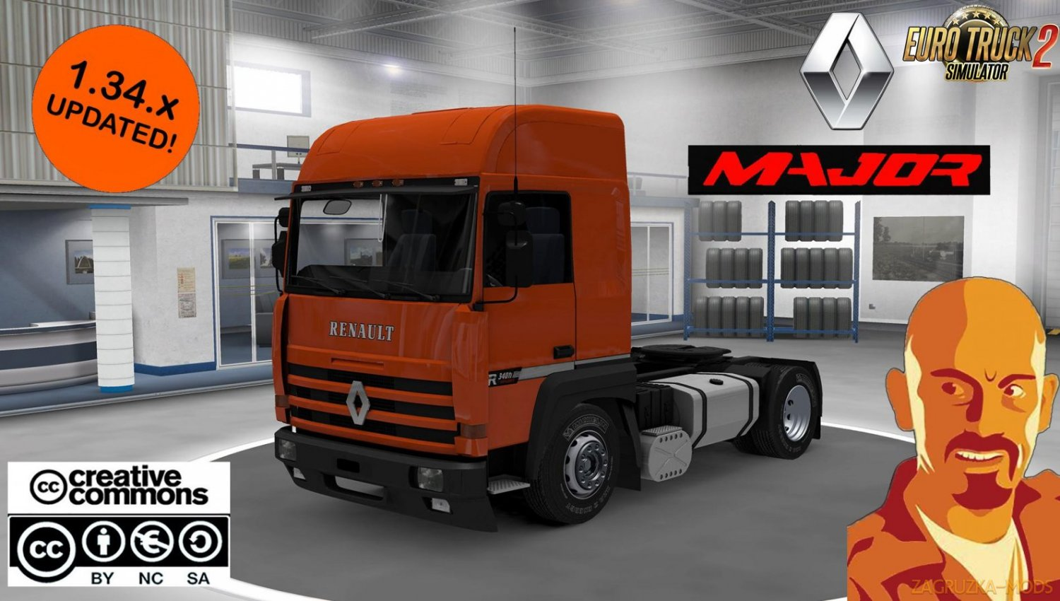 Renault Major edited for Ets2 [1.34.x]
