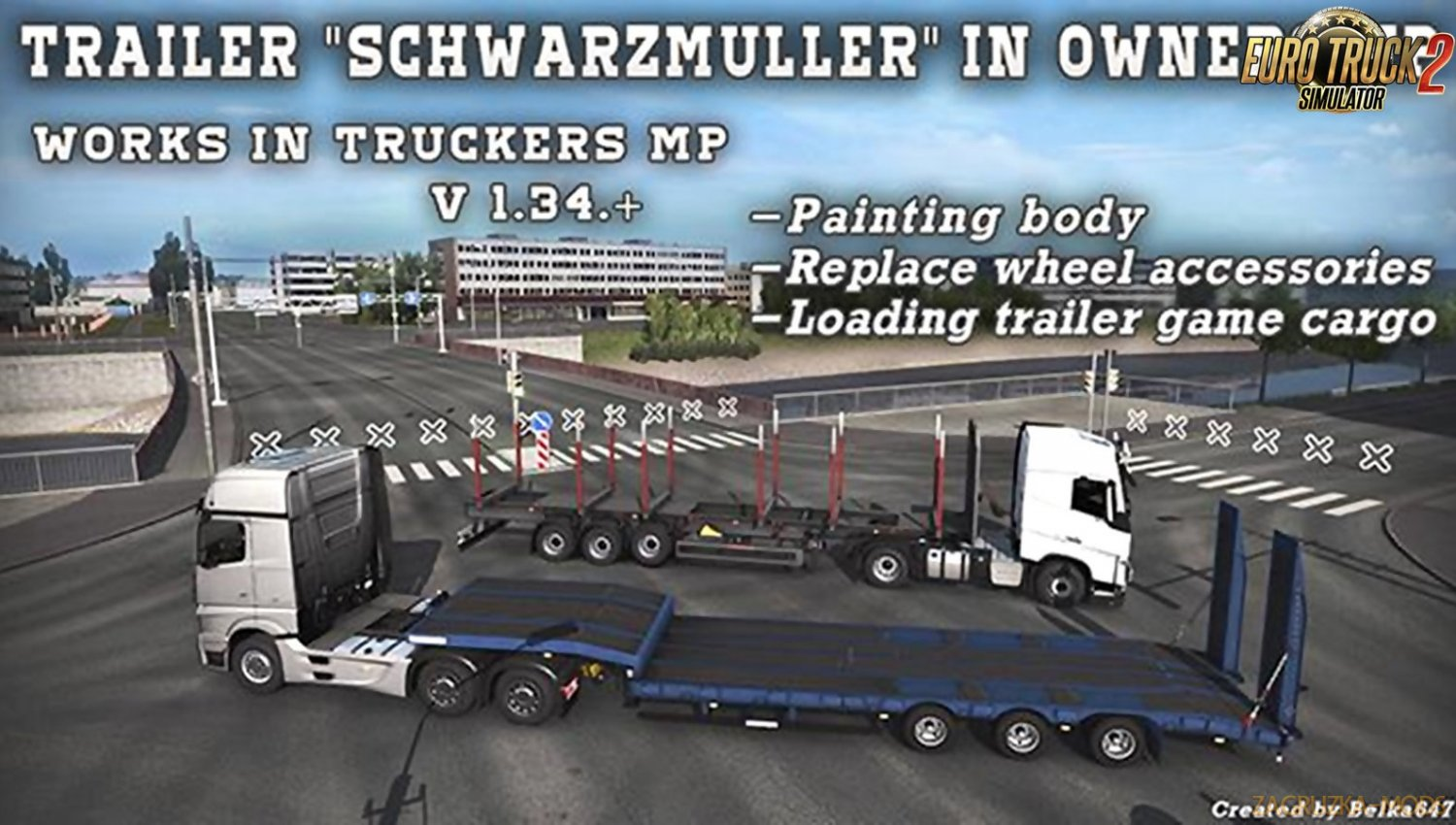 Trailer Schwarzmuller in Ownership [1.34.x]