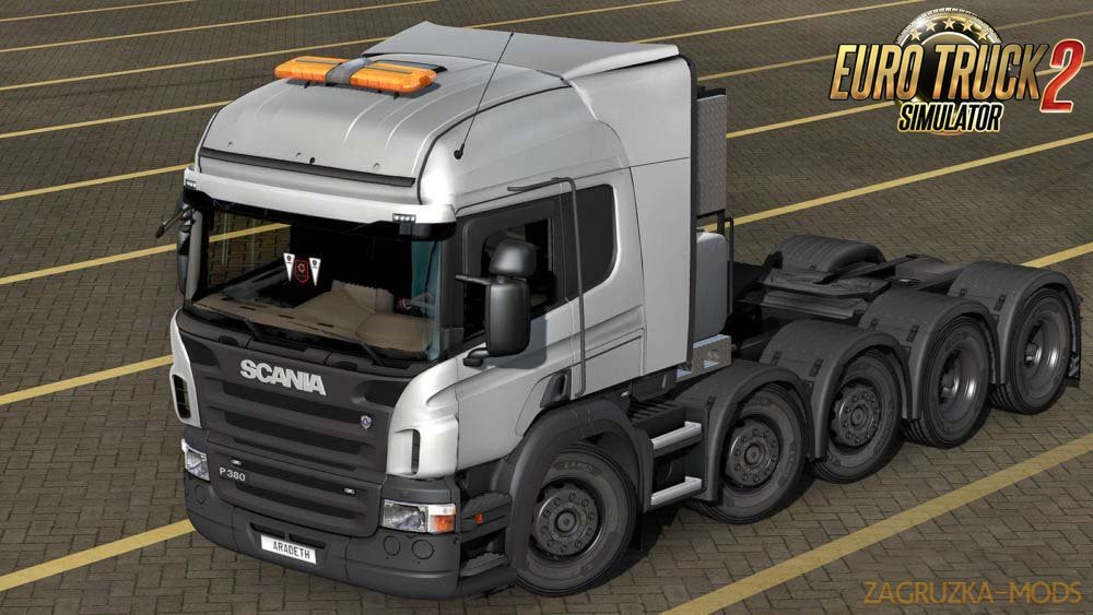 Scania v8 Stock Sound for Ets2