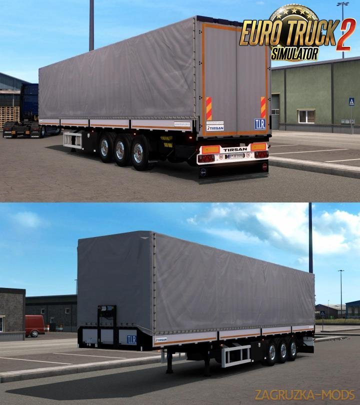 Tirsan Ownable Trailer v1.1 for Ets2