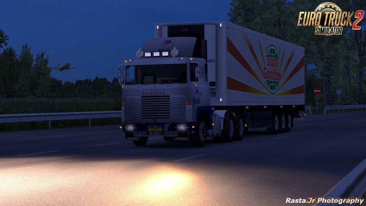 Scania 1 Series V8 Sound v3 for Ets2