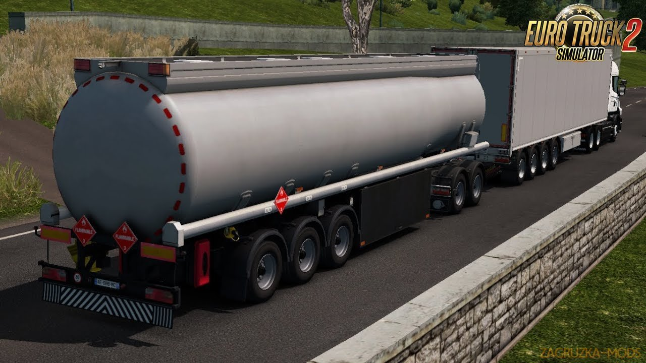 Trailer High Capacity With Cistern [TruckersMP] for Ets2