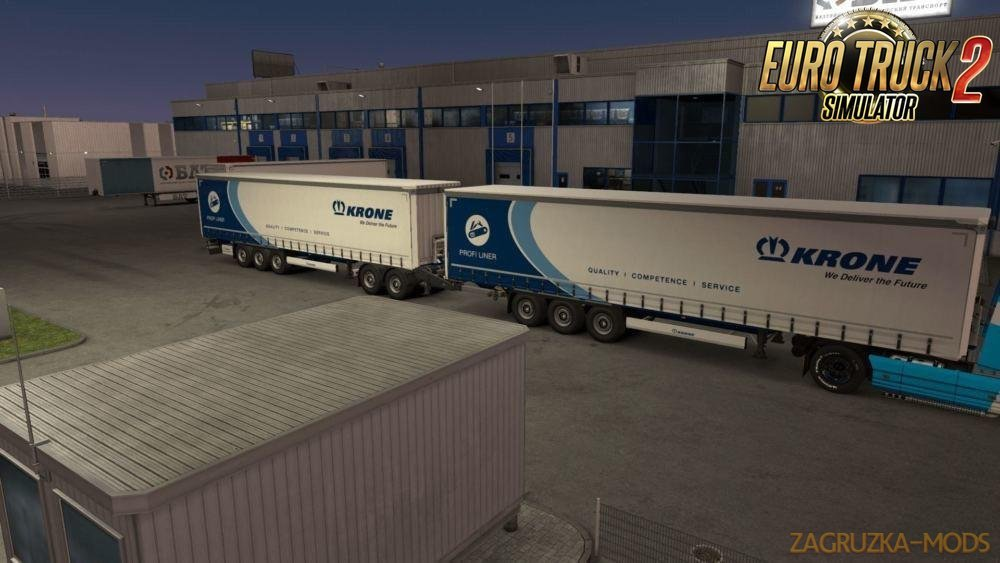 Krone High Capacity [MP-SP] for Ets2