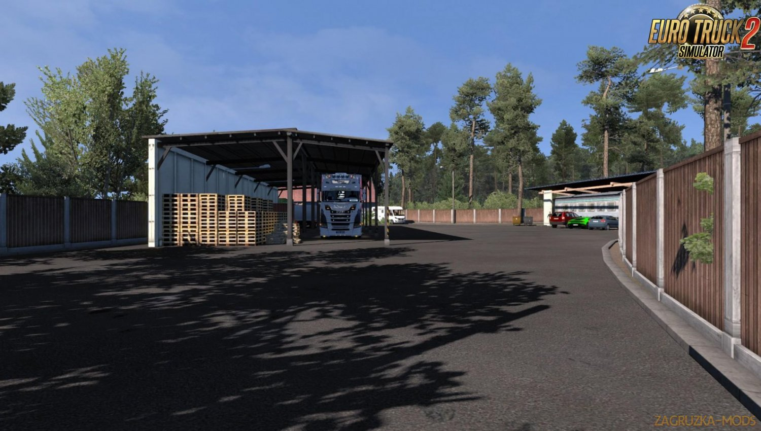 Home Sweet HomeFirma Baltic v1.0 for Ets2