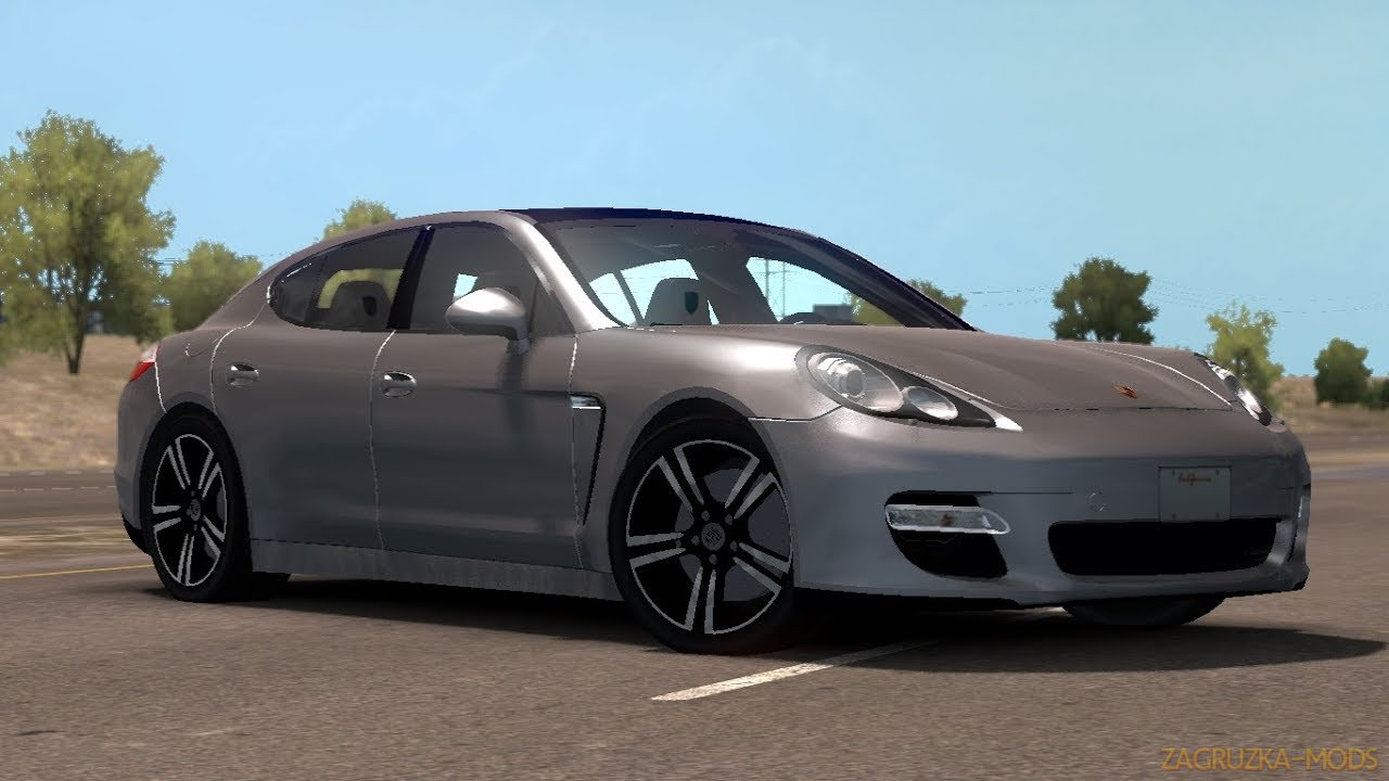 Porsche Panamera 2010 + Interior + Trailer v2.0 (1.34.x) for ATS