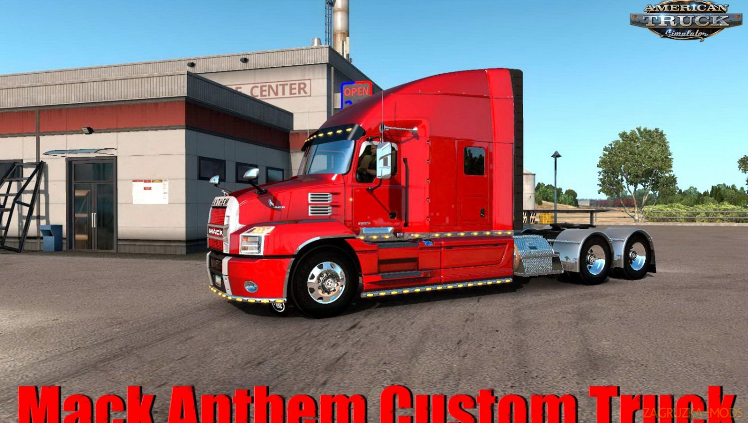 Mack Anthem Custom Truck + Interior v1.0 (1.34.x) for ATS