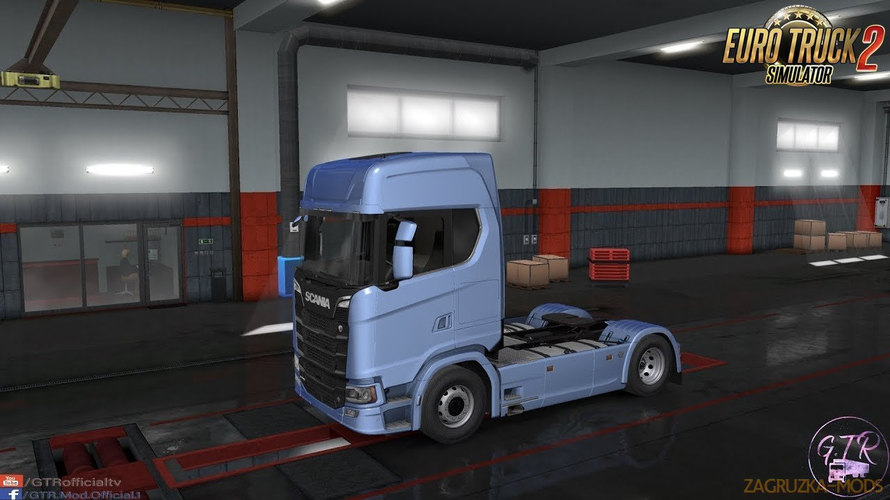 Cabin Without Fairing for Scania S Next Gen for Ets2