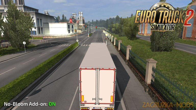 No-Bloom Add-on v1.0 for Realistic Graphics Mod (Ets2 version)
