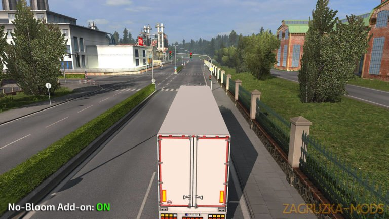No-Bloom Addon v 1.0 for Realistic Graphics Mod by Frkn64 (1.34.x) for ATS