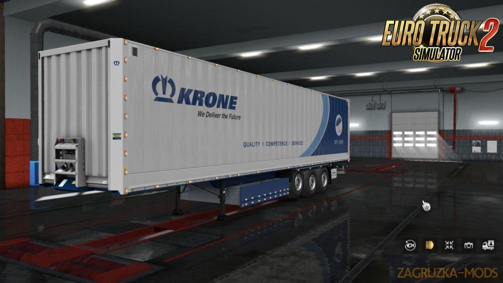 Slots for KRONE Trailers v0.11 in Ets2