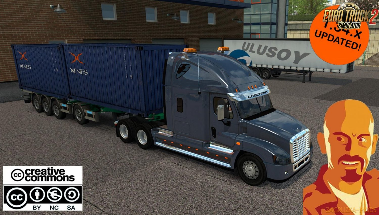 Freightliner Cascadia for Ets2 [1.34.x]