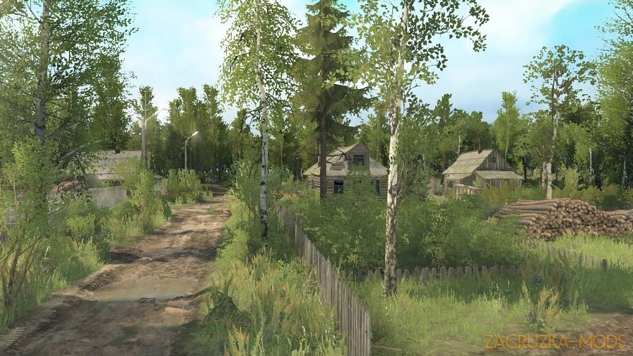 Mihailovskoe Map v43 by Grek for SpinTires: MudRunner