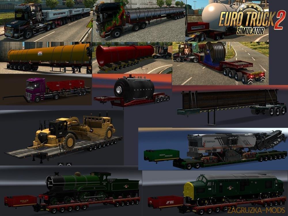 Chris45 Trailers Pack v 9.13 [1.34.x]