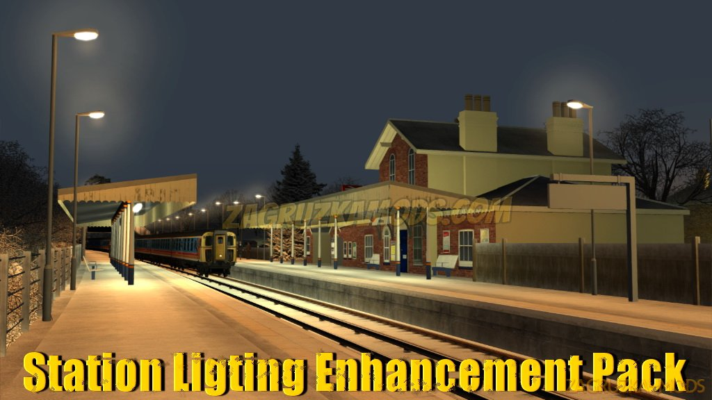 Station Ligting Enhancement Pack v1.1 for TS 2019