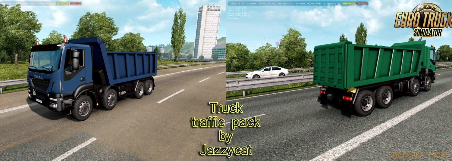 Truck Traffic Pack v3.4 by Jazzycat